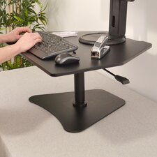 "High Rise 12"" H x 28"" W Desk Converter"