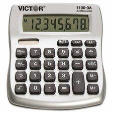 Antimicrobial Compact Desktop Calculator, 10-Digit Lcd