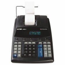 Extra Heavy-Duty Printing Calculator, 12-Digit Display