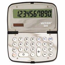 909 Handheld Calculator, 10-Digit LCD