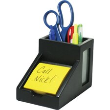Pencil Cup & Note Holder