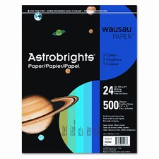 Astrobrights Colored Paper, 24Lb, 8-1/2 X 11, 500 Sheets/Ream
