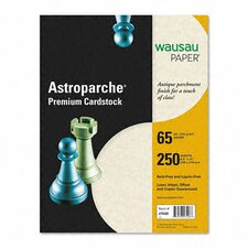 Neenah Paper Astroparche Cover Stock, 65 Lbs., 8-1/2 X 11, 250 Sheets/Pack