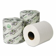 Ecosoft Seal 2-Ply Toilet Paper - 500 Sheets per Roll / 96 Rolls