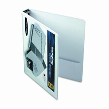 """Hanging View Binder with Dubllock Round Rings, 1"""" Capacity"""
