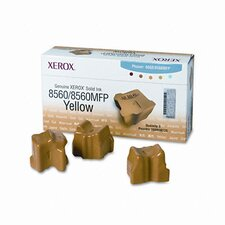 Solid Ink Stick, 3400 Page-Yield, 3/Box