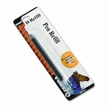 H-Refills for Jimnie Clip Retractable Ballpoint, Medium, 3/Pack (Set of 3)