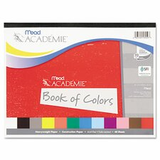 Academie Book of Colors, Construction Paper, 18 x 12, Assorted, 48 Sheets (Set of 2)