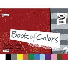 "48 Sheet 18"" x 12"" Academie Book Of Colors Construction Paper"