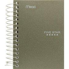 """5.5"""" x 4"""" Five Star Fat Lil' Wirebound Notebook"""