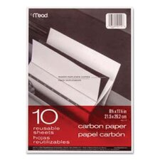 Carbon Mill Finish Paper, 8-1/2 X 11/Pack (Set of 3)