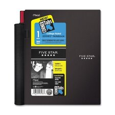 Advance Corner Tab 1-Subject College Ruled Notebook