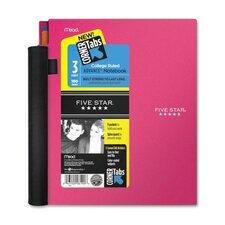 Five Star Advance Wirebound Notebook, College Rule, Letter, 3 Subject 150 Sheets/Pad