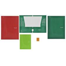 4 Pocket Paper Folder