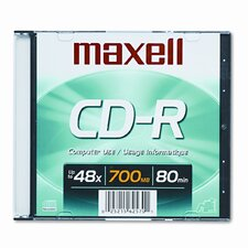 Cd-R Disc, 700Mb/80Min, 48X (Set of 4)
