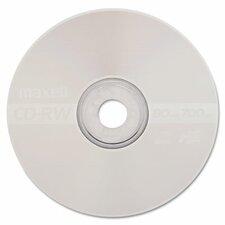 Cd-Rw Discs, 700Mb/80Min, 4X, 10/Pack