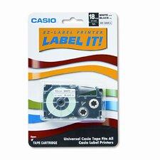 "Tape Cassette For Kl Label Makers, 3/4"" X 26Ft"