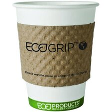 EcoGrip Renewable Resource Compostable and Recyclable Cup Sleeve