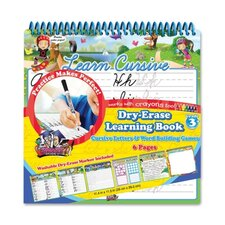 Cursive Learning Book, Cursive, 6 Page, Assorted