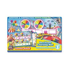 Addition/Subtraction Spinner Mat