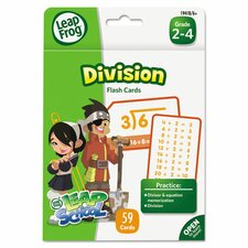 Leapfrog Division Flash Cards
