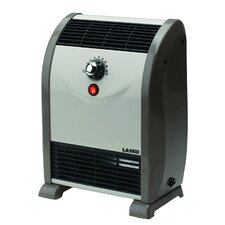 750 Watt Portable Electric Fan Compact Heater with Thermostat