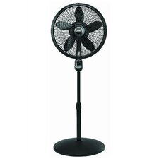 "18"" Oscillating Pedestal Fan with Remote Control"