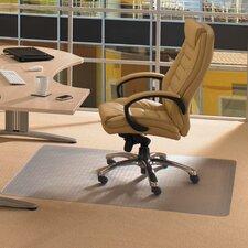Cleartex Advantage Low Pile Carpet Gradient Edge Chair Mat