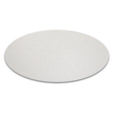 Desktex Anti-Slip Polycarbonate Circular Mat (Set of 2)