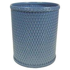 Chelsea Decorator Round Wicker Wastebasket