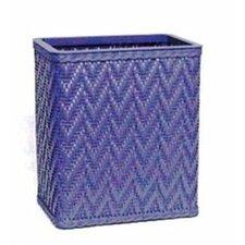 Elegante Decorator Wicker Wastebasket