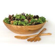 Bamboo Salad Bowl 3 Piece Set