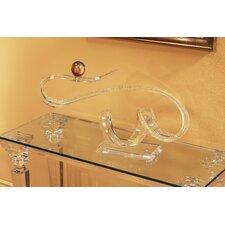Sculptures and Art Pieces Acrylic Horizontal Wave Sculpture