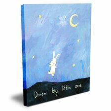 Words of Wisdom Dream Big Little One Canvas Art