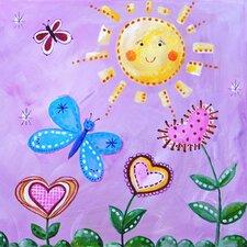 Patchwork Sunshine Paper Print