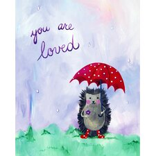 Words of Wisdom You are Loved Paper Print