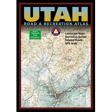 Benchmark Utah Road & Recreation Atlas, 5th Edition