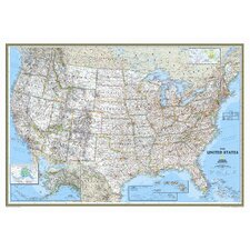 United States Classic Mural Map