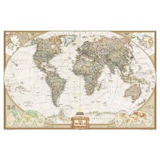 World Executive Mural Map