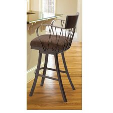 Bambusa Bar Stool with Cushion