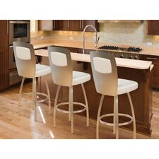 Calvin Swivel Bar Stool with Cushion