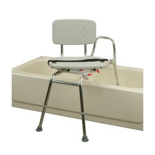 Transfer Bench with Molded Swivel Seat / Back