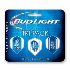 Bud Light Tri-pack Slim Flights (Set of 2)