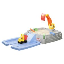Big Digger 4' Rectangular Sandbox with Cover