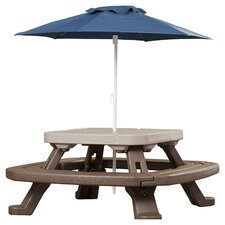 Endless Adventures Fold 'n Store Umbrella Picnic Table