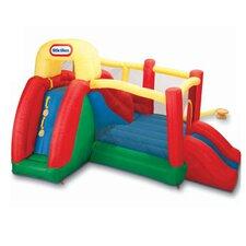 Double Fun Slide 'n Bounce Bounce House