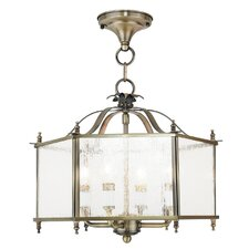 Livingston 4 Light Semi Flush Mount