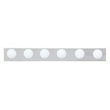 6 Light Bath Bar