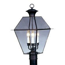 Westover 3 Light Outdoor Post Lantern