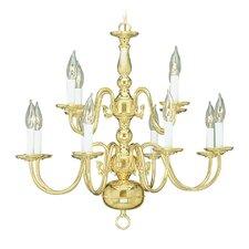 Williamsburgh 12 Light Chandelier